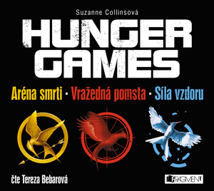 Suzanne Collins - Hunger Games trilogie - audio kniha Tereza Bebarová