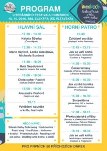 Festival Humbook - program